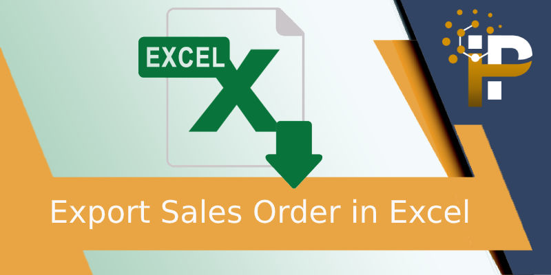 Export Sales Order in Excel
